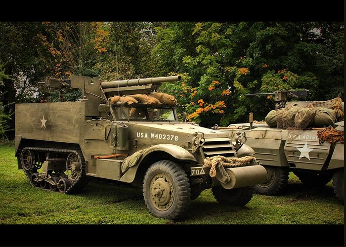 Armor Greeting Card featuring the photograph Us Armor by Lyle Hatch