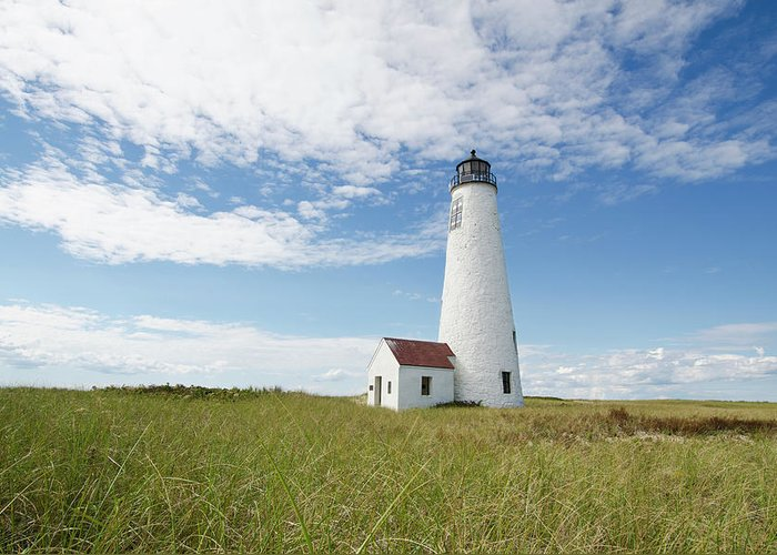 Tranquility Greeting Card featuring the photograph Usa, Massachusetts, Nantucket Island by Tetra Images - Chris Hackett
