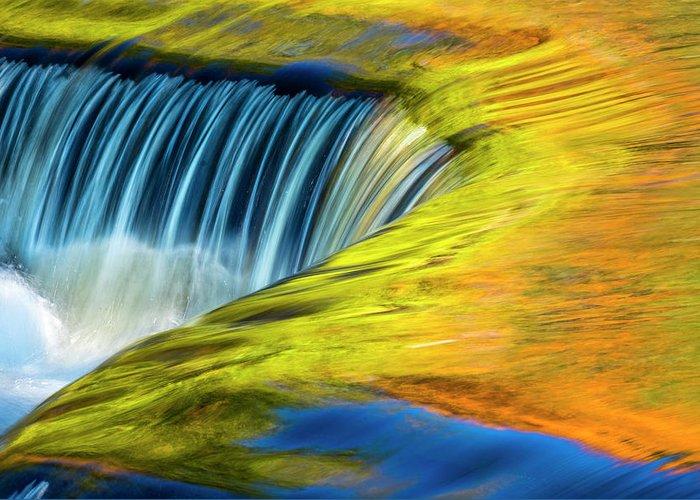 Michigan Waterfalls Greeting Cards