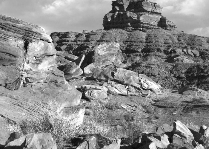 Landscape Greeting Card featuring the photograph Utah Outback 38 by Mike McGlothlen