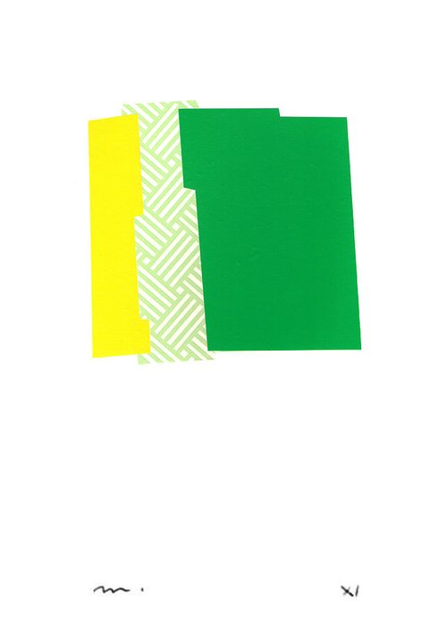 Abstract Greeting Card featuring the photograph V-v-010 by Moran de Musee