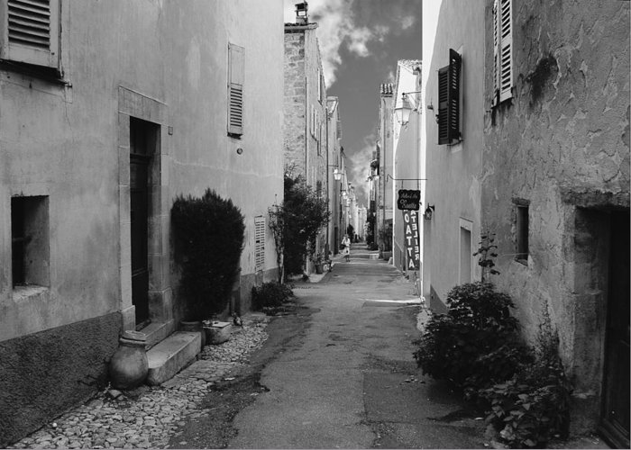 Valbonne Greeting Card featuring the photograph Valbonne - Provence-alpes-cote D'azur - France by Christine Till