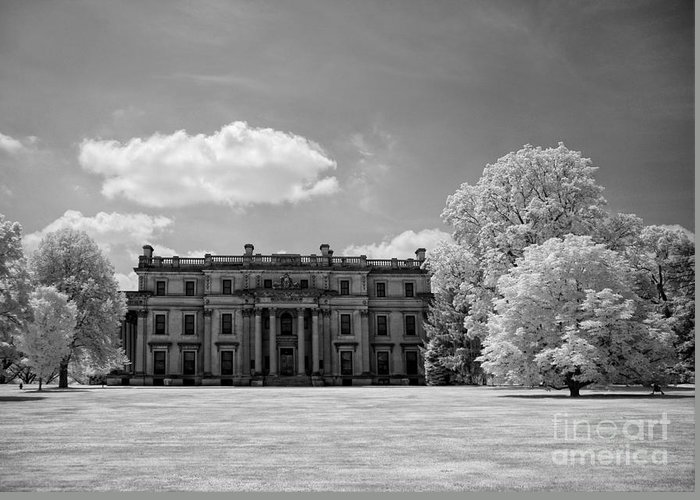 Ir Greeting Card featuring the photograph Vanderbilt Mansion by Claudia Kuhn