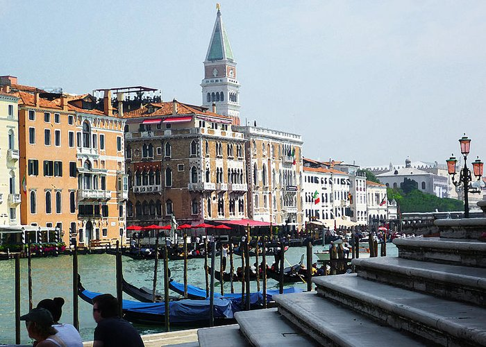 Canale Grande Greeting Cards