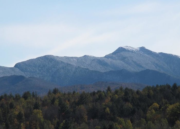 Mountains Greeting Card featuring the photograph Vermont Mountains by Barbara McDevitt
