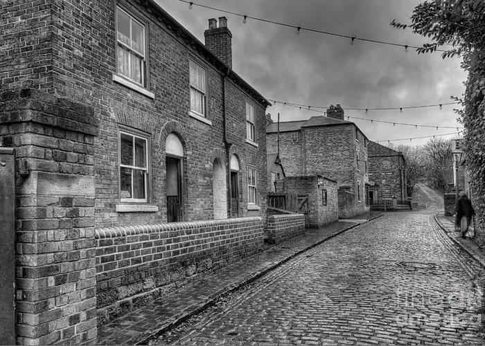 Alley Greeting Card featuring the photograph Victorian Street by Adrian Evans