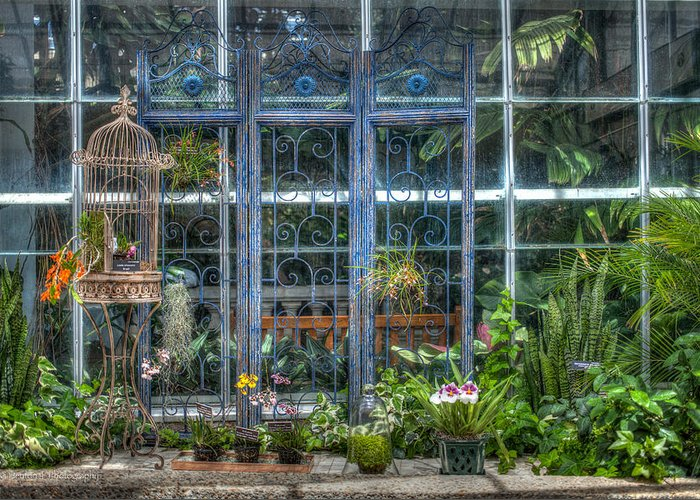 Hdr Greeting Card featuring the photograph Victoriana by Ross Henton
