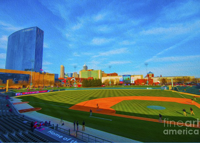 Indianapolis Indians Greeting Cards