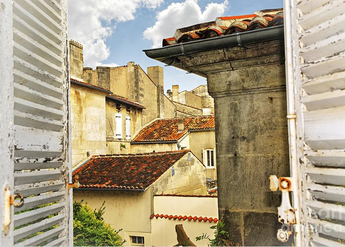 Cognac Greeting Card featuring the photograph View In Cognac by Elena Elisseeva