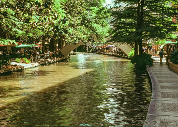 San Antonio River Walk Greeting Cards