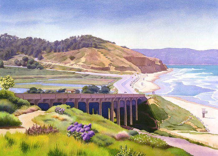California State Park Beach Greeting Cards