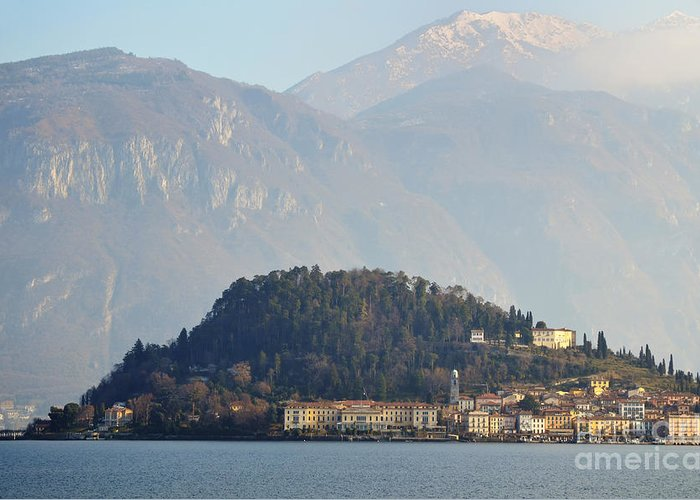 Village Greeting Card featuring the photograph Village Bellagio by Mats Silvan