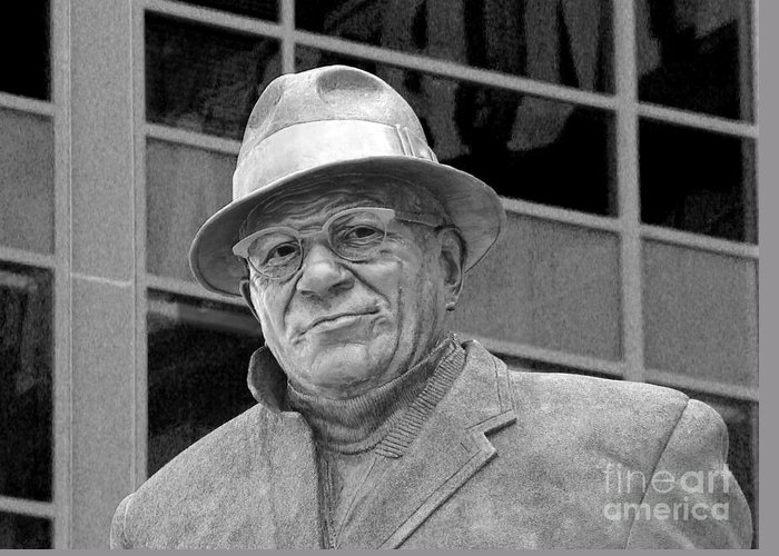 Vince Lombardi Greeting Card featuring the photograph Vince Lombardi by James Hammen