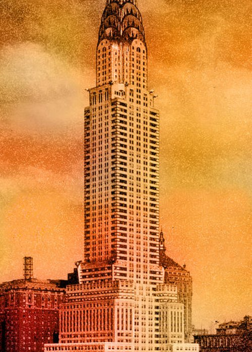 Chrysler Building Greeting Cards