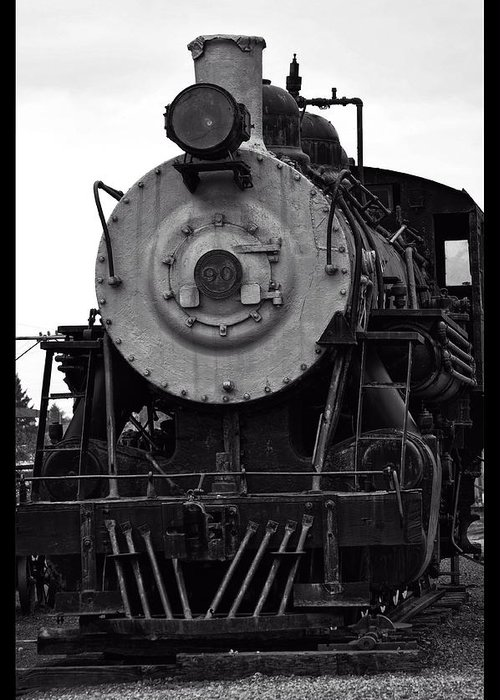 Garibaldi Greeting Card featuring the photograph Vintage Train 90 by Image Takers Photography LLC - Carol Haddon