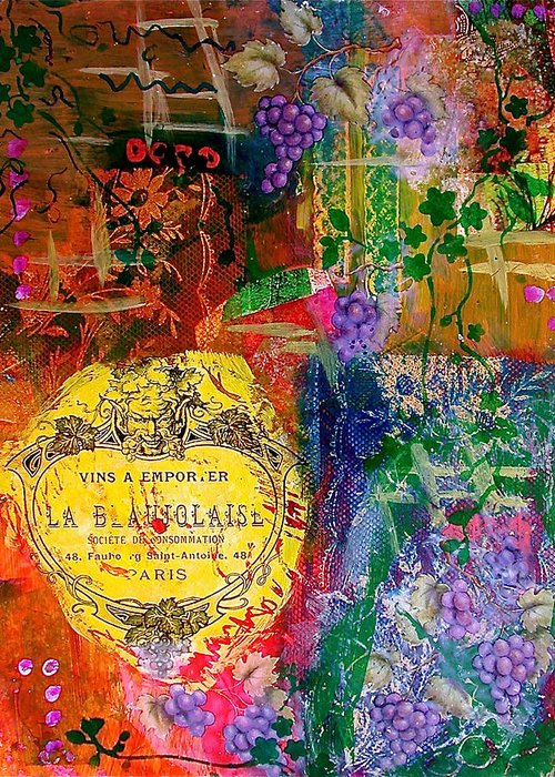 Reverse Mixed Media Greeting Cards