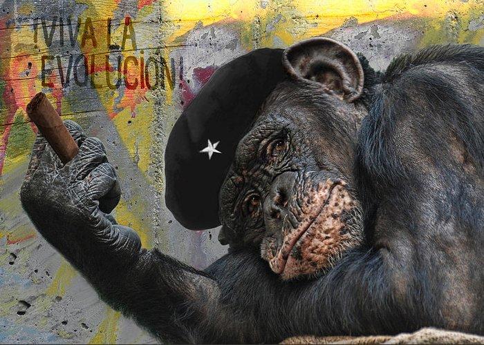 Animal Greeting Card featuring the photograph Viva La Evolucion by Joachim G Pinkawa