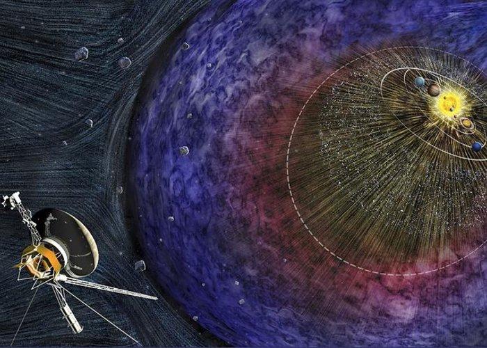 Interstellar Space Photographs Greeting Cards