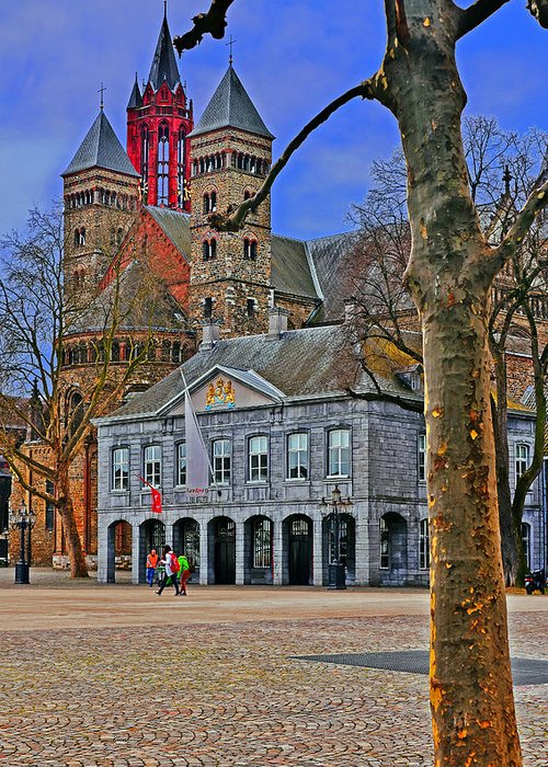 Travel Greeting Card featuring the photograph Vrijthof Square by Elvis Vaughn