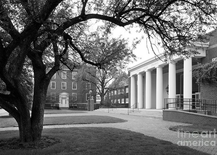 Crawfordsville Greeting Card featuring the photograph Wabash College Sparks Center by University Icons