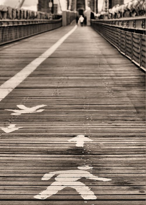 Walk This Way Greeting Card featuring the photograph Walk This Way by JC Findley