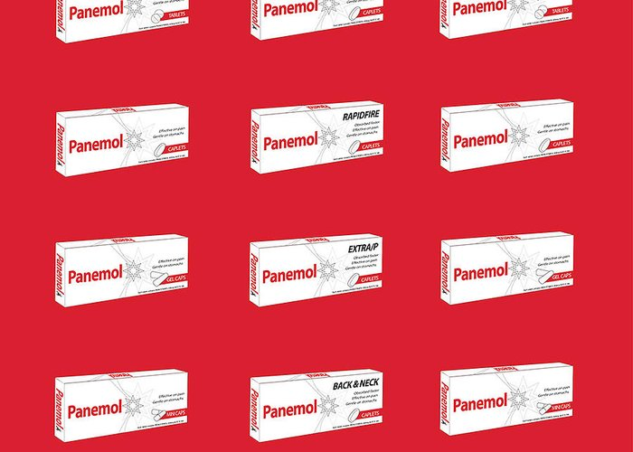 Pop Art Digital Art Greeting Card featuring the digital art Warhol_pandemic Tnm by Mark Van den dries