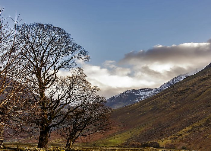 Wasdale Greeting Card featuring the photograph Wasdale Head Lake District by Trevor Kersley