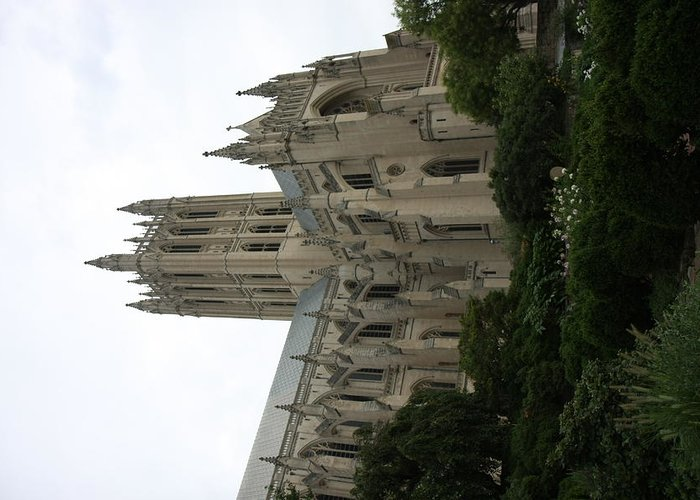 Alter Greeting Card featuring the photograph Washington National Cathedral - Washington Dc - 011350 by DC Photographer
