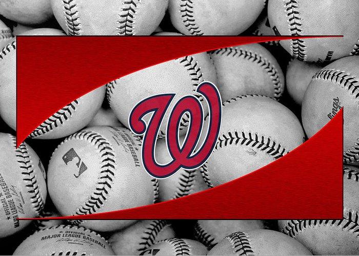 Washington Baseball Greeting Cards