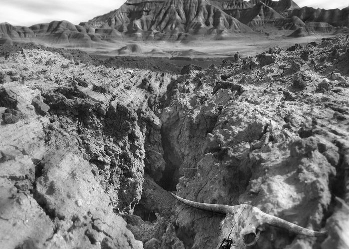 Southwest America Greeting Card featuring the photograph Wasteland by Mike McGlothlen