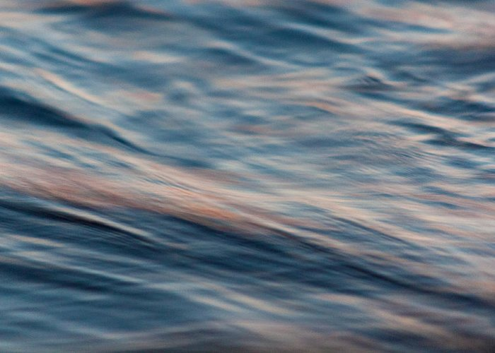 Darnley Greeting Card featuring the photograph Water Movement - Abstract by Matt Dobson
