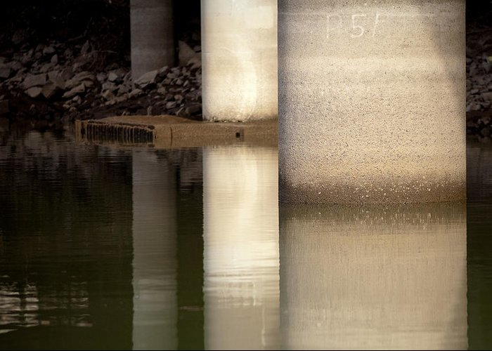 Portland Greeting Card featuring the photograph Waterfront Reflections by Steven Lenhart