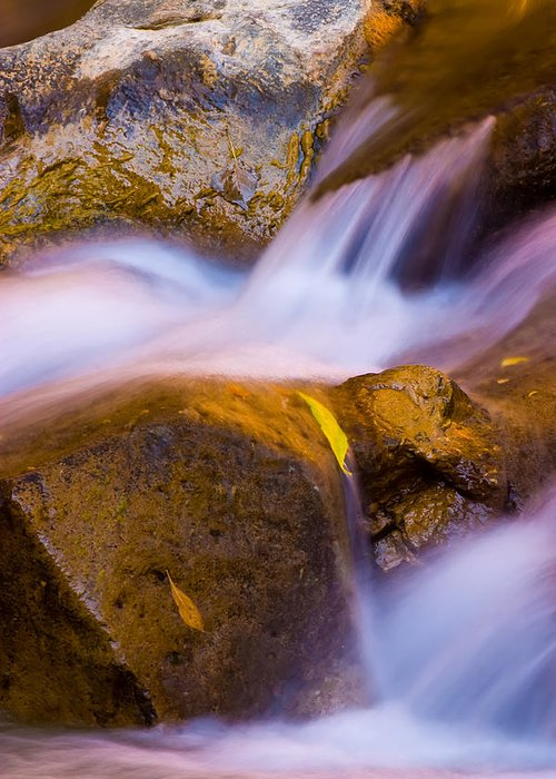 3scape Photos Greeting Card featuring the photograph Waters Of Zion by Adam Romanowicz