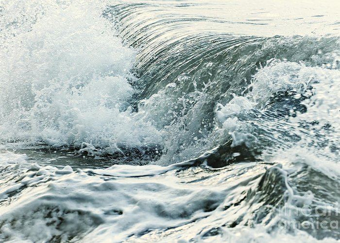 Rolling Waves Greeting Cards
