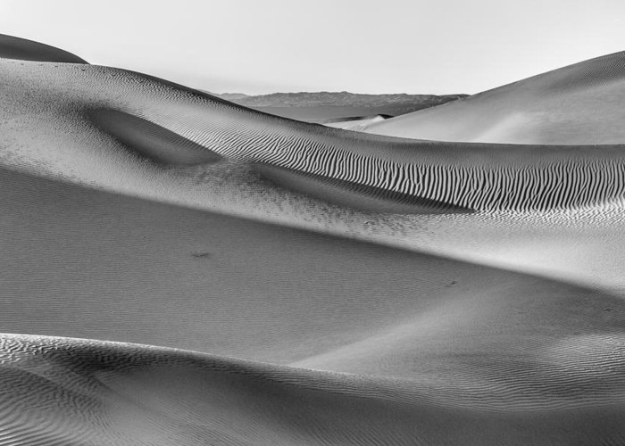 Sky Greeting Card featuring the photograph Waves Of Sand IIi by Jon Glaser