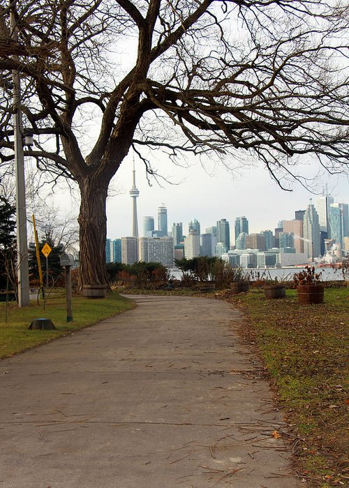 Centre Island Greeting Card featuring the photograph Way To Downtown by Munir Alawi
