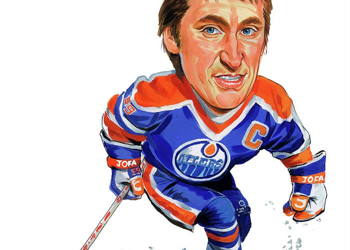 Gretzky Greeting Cards