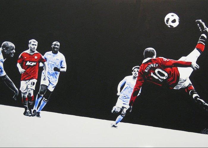 Wayne Rooney Greeting Cards
