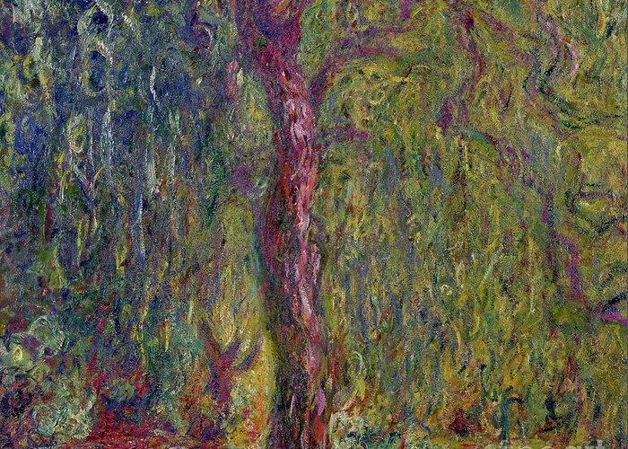 Impasto Tree Greeting Cards