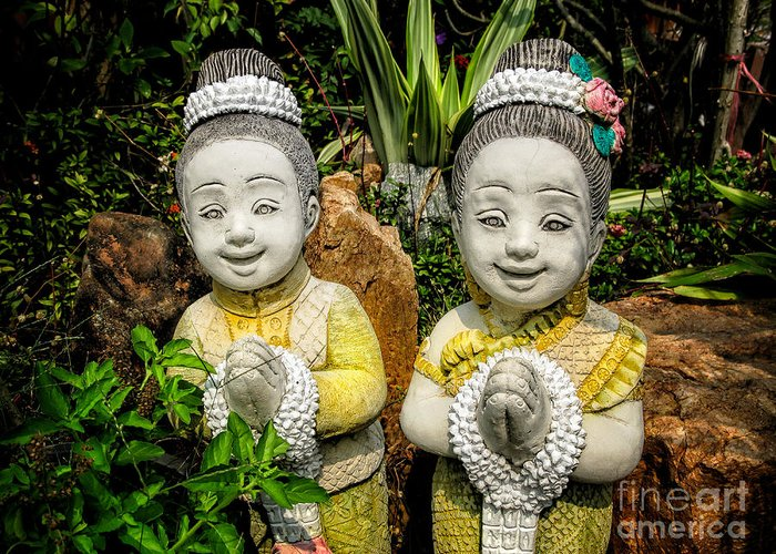 Sawasdee Greeting Card featuring the photograph Welcome To Thailand by Adrian Evans