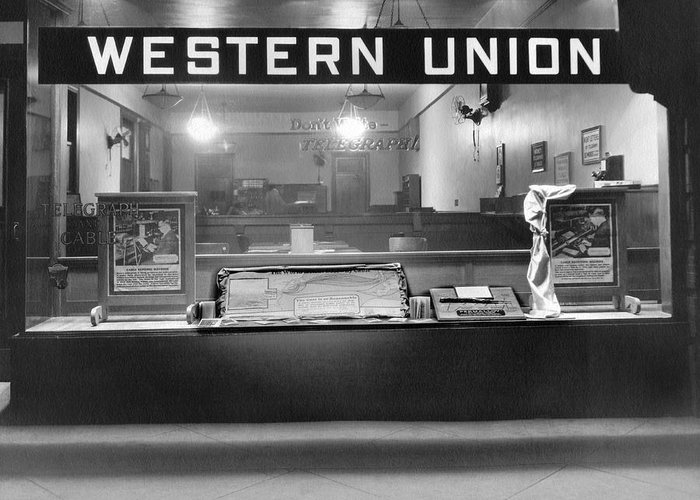 Western Union Greeting Cards