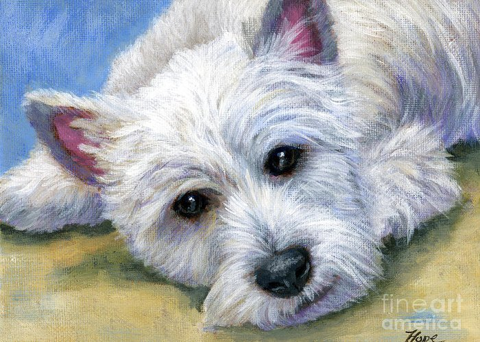 Westie Cards Greeting Cards