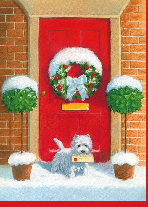 Frosty Greeting Cards