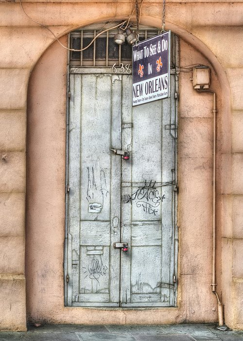 French Quarter Greeting Card featuring the photograph What To See And Do In New Orleans by Brenda Bryant