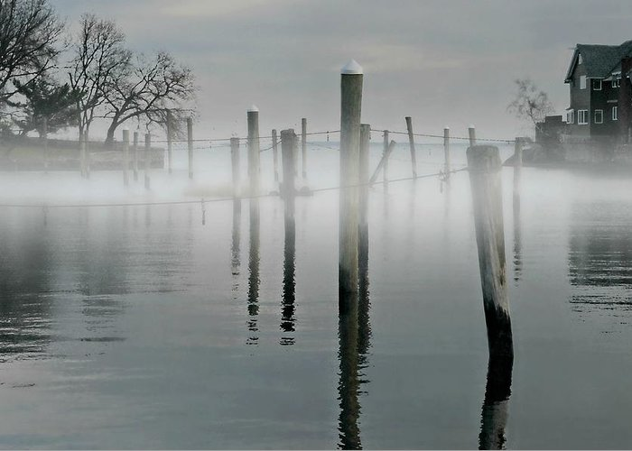 Fog Greeting Card featuring the photograph When I Look In Your Eyes by Diana Angstadt