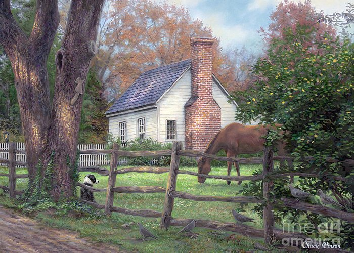 Cottages Greeting Cards