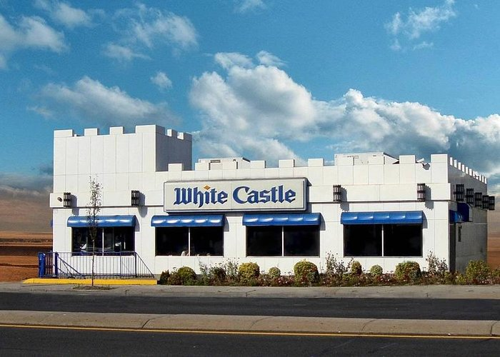 Photography Greeting Card featuring the photograph White Castle by Bruce Lennon