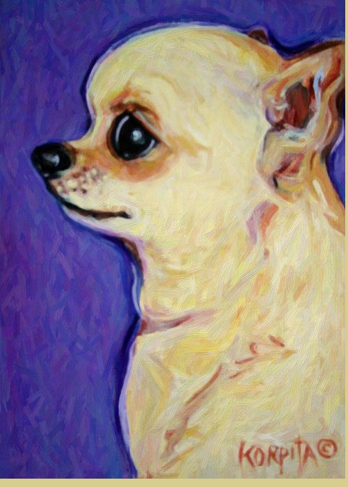 Chiwawa Portrait Greeting Cards