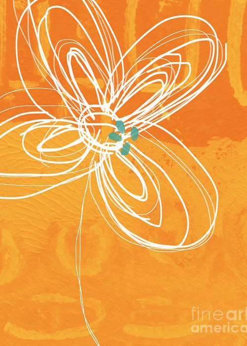 Abstract Flower Garden Greeting Cards