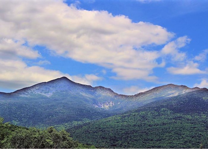 Adams Greeting Card featuring the photograph White Mountains by Andrea Galiffi